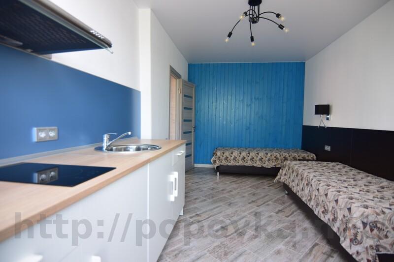 Трехкомнатные апартаменты с кухней (No3)